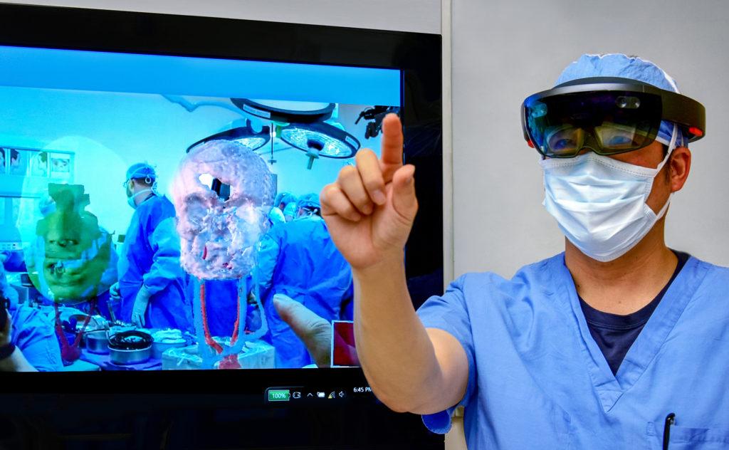 Hololens face transplant Cleveland Clinic